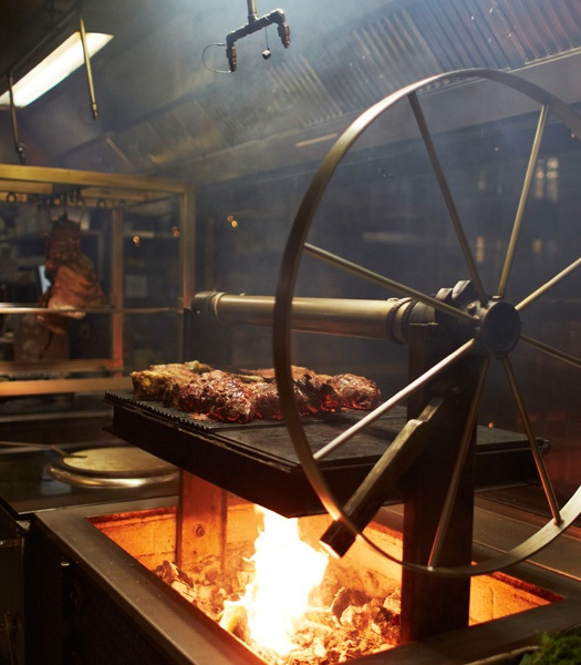 Barbecoa | Jamie Oliver brings high end BBQ to London!  Get a table by the window, Can't beat the view