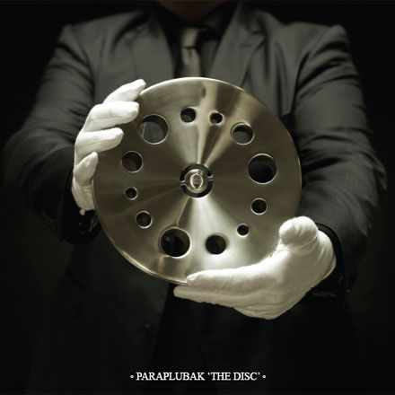 Umbrella stand 'The Disc'