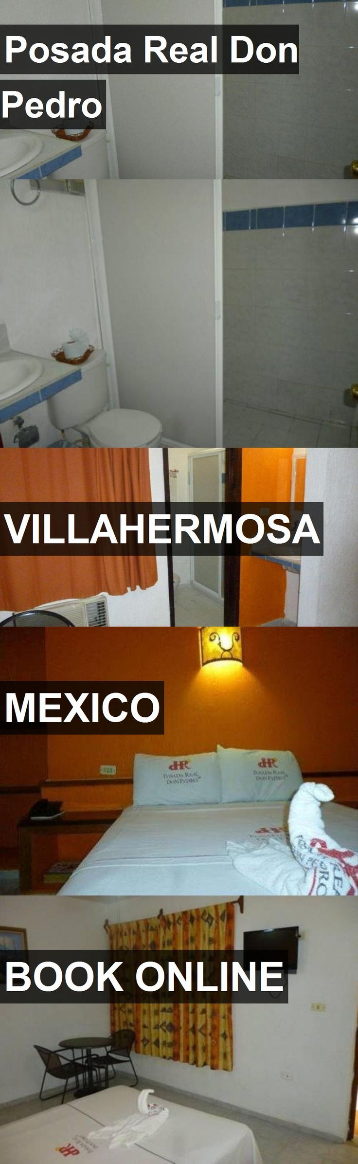 Hotel Posada Real Don Pedro in Villahermosa, Mexico. For more information, photos, reviews and best prices please follow the link. #Mexico #Villahermosa #travel #vacation #hotel