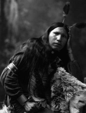 Afraid Of Hawk - Oglala Sioux