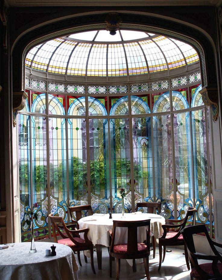 55 besten jugendstil bilder auf pinterest buntglasfenster fenster und fenster und t ren - Jugendstil innenarchitektur ...