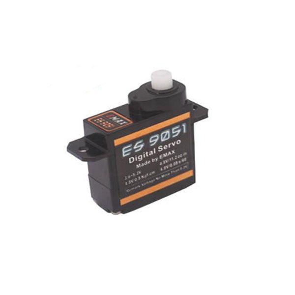 Emax ES9051 Digital Mini Servo For RC Model https://www.fpvbunker.com/product/emax-es9051-digital-mini-servo-for-rc-model/    #planes