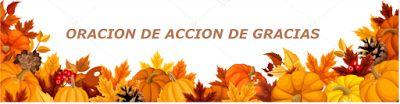α JESUS NUESTRO SALVADOR Ω: ORACION DE ACCION DE GRACIAS