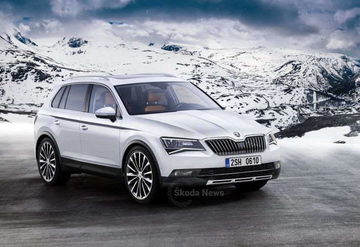 5-seat #Skoda #Kodiak SUV imagined – #Rendering