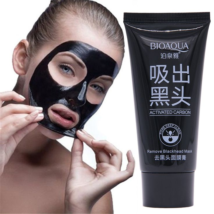 Face Care Acne Treatment Suction Black Mask Mineral Mud Facial Mask Nose Blackhead Remover Peeling Peel Off Black Head Skin Care <3 Find similar products by clicking the image