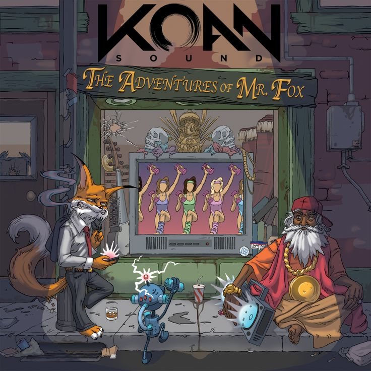 KOAN Sound - THE ADVENTURES OF MR. FOX EP Now OUT ON BEATPORT! - $10.99
