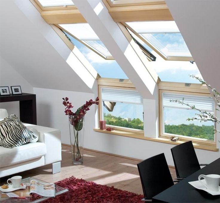 Die besten 25+ Fakro dachfenster Ideen auf Pinterest baue ein - home office mit dachfenster ideen bilder