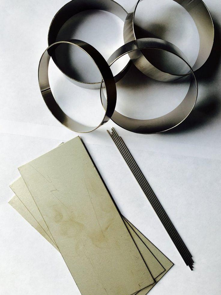 Ticon Titanium Welding Sample Pack