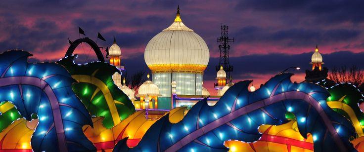 Global Winter Wonderland | Sacramento Holiday Lights & Theme Park at Cal Expo