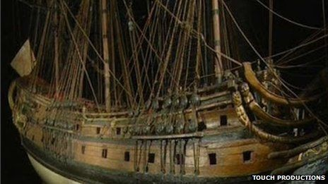 CGI reconstruction of the London
