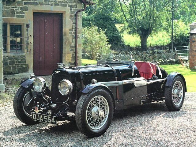 1934 Aston Martin Ulster LeMans 1.5L