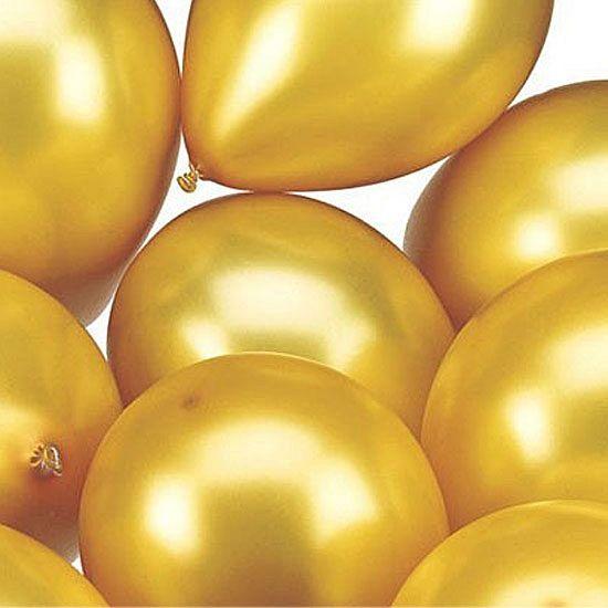 25 stuks gouden ballonnen | Fun en Feest