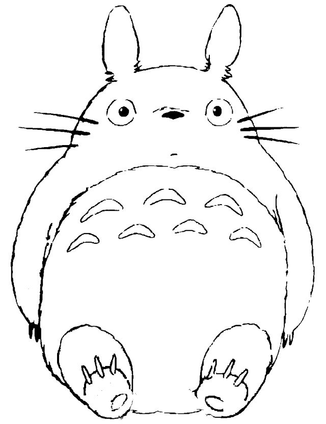 Line Art Studio Serpong : Totoro drawing google search for the kiddos