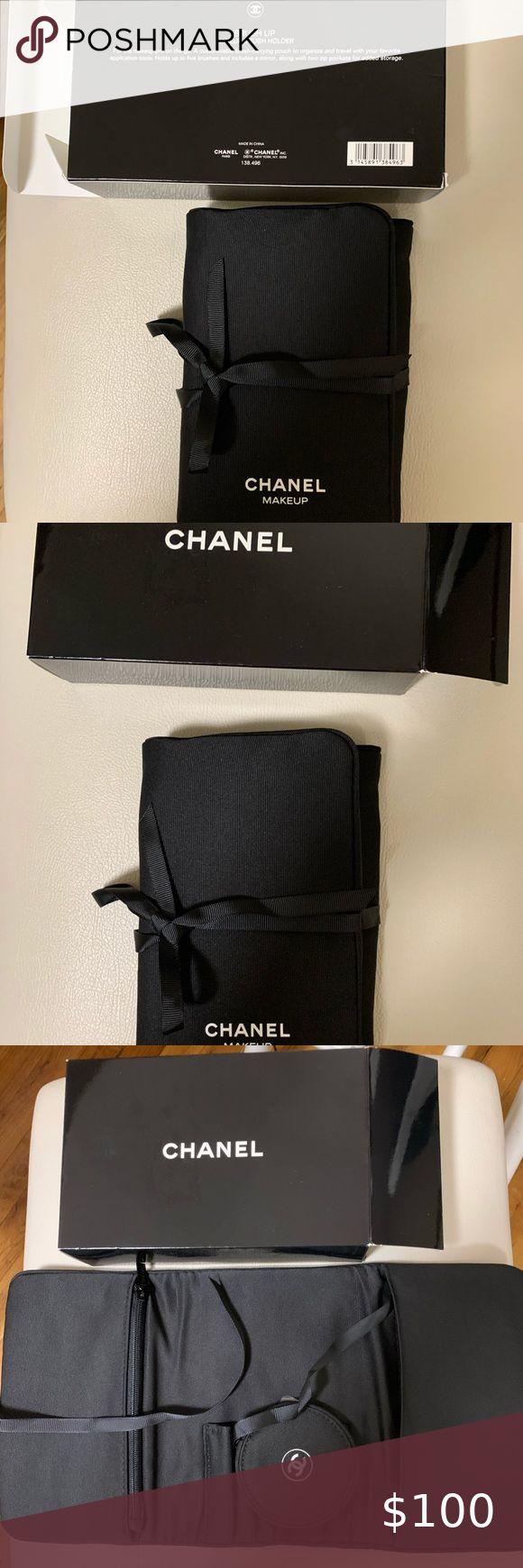 Chanel makeup brush holder in 2020 Chanel makeup, Makeup