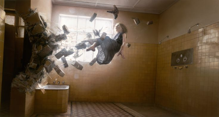 Jeremy Geddes ACEDIA2012, Oil on Board, 47 x 24 inches