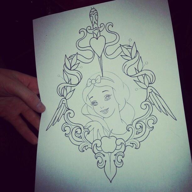 My Disney Tattoo Inked All Of My Love Zeichnungen