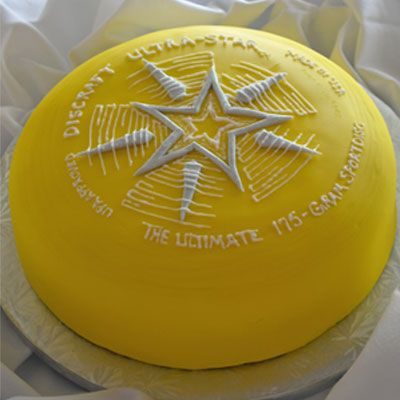 Ultimate Frisbee Cake