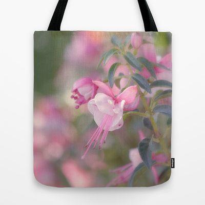 Delicate Tote Bag by Kim Hojnacki Photography - $22.00