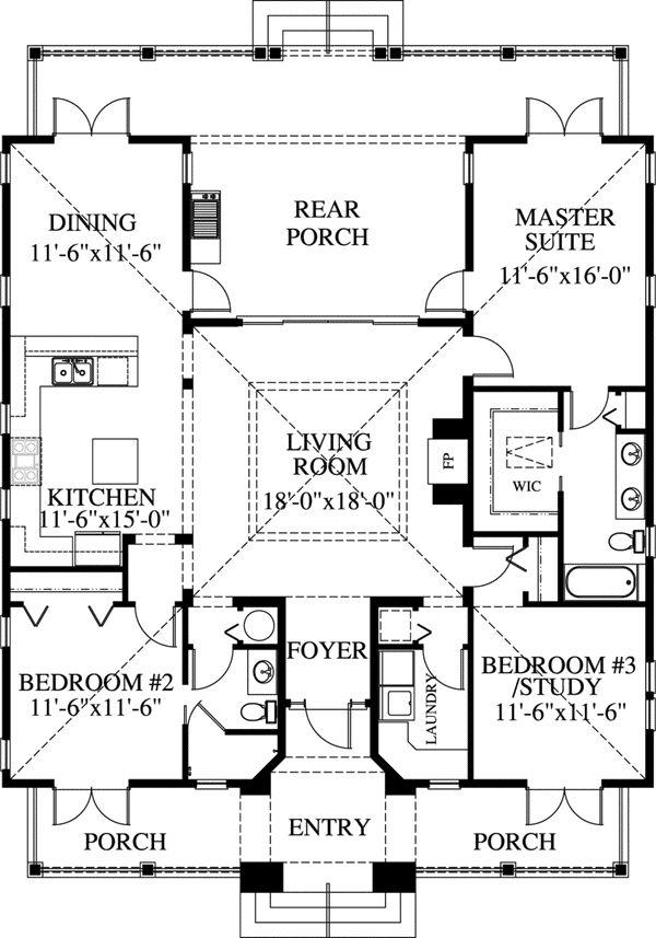 3 bedroom 2 bath beach house plans for 2 bedroom beach house plans