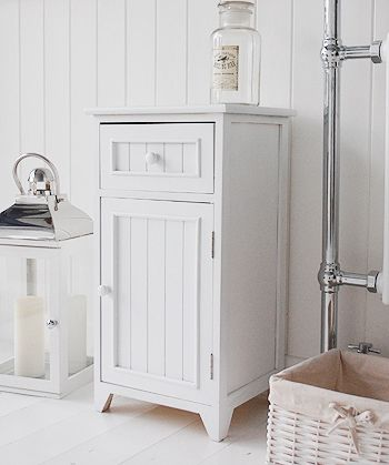 Ideas For White Bathroom Cabinet For Storage Bedside
