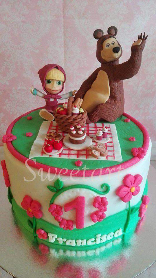 Masha y el Oso cake.