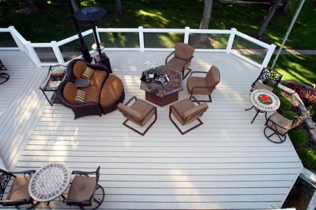 8 best cedar decking images on pinterest cedar deck for Compare composite decking brands