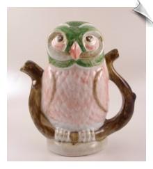 OWL Ceramic Novelty Teapot