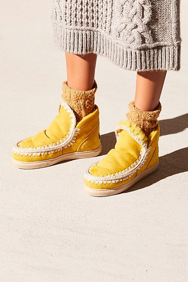 Mou Daybreak Sneaker Boot | Sneaker boots, Star boots, Boots