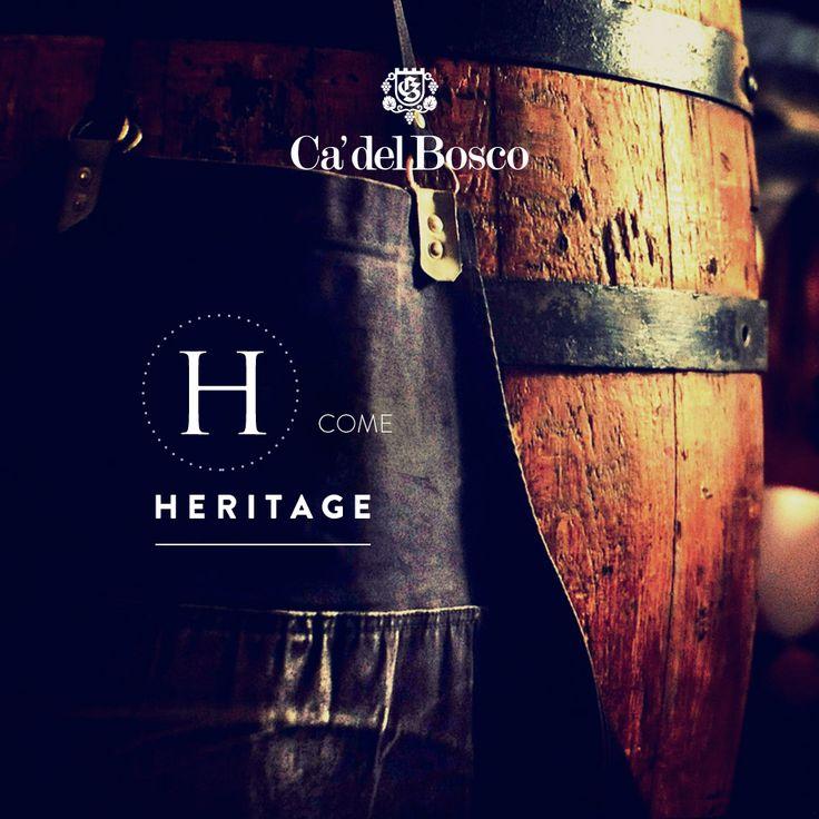 Abbiamo ereditato dal passato conoscenze e responsabilità. E' un tesoro da conservare e coltivare, in ogni suo aspetto. #enjoycadelbosco #heritage #retaggio #tradizione #cultura