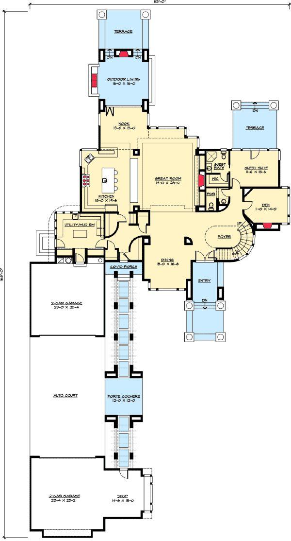 604 best *** House Plans / Floor Plans *** images on Pinterest ...