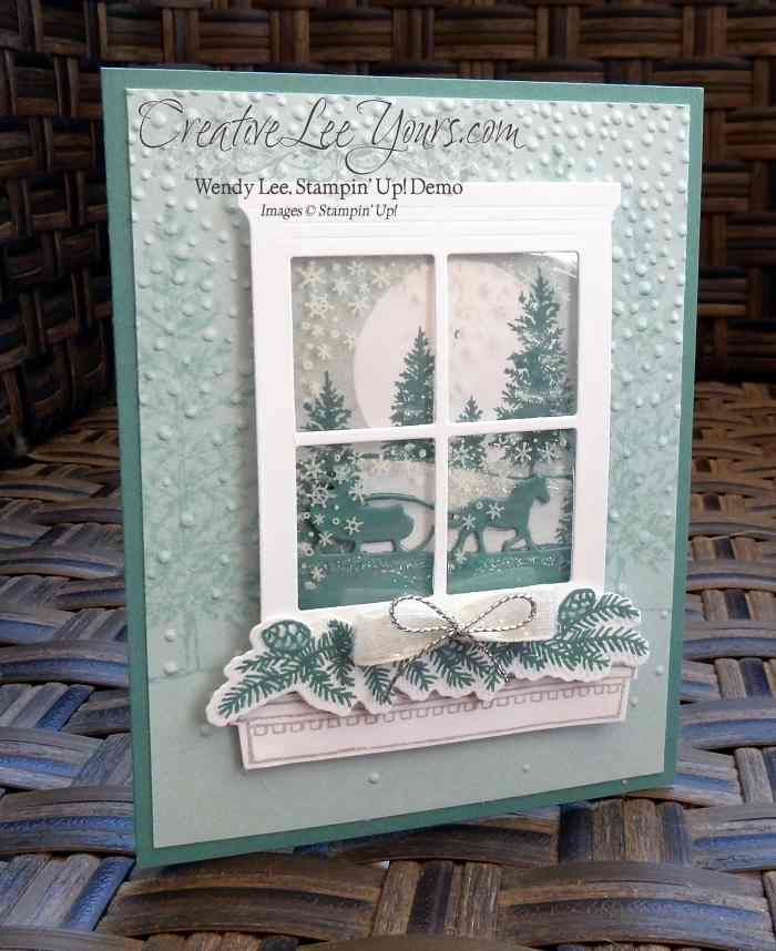 ёжки новогодняя открытка окно с пошаговой фотографией может