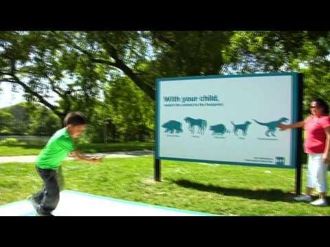 Guerilla Classrooms - interactive outdoor advertising