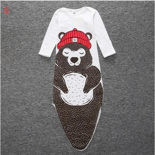 New design Fish Sleeping bag Cotton Bear sleeping bag Baby blanket baby clothes for newborns