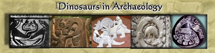 Dinosaurs in archaeology. Christian Creation Science and apologetics. Young Earth Creationism. If the earth is so old and the dinosaurs never lived with mankind, then why did these ancient people know about them?
