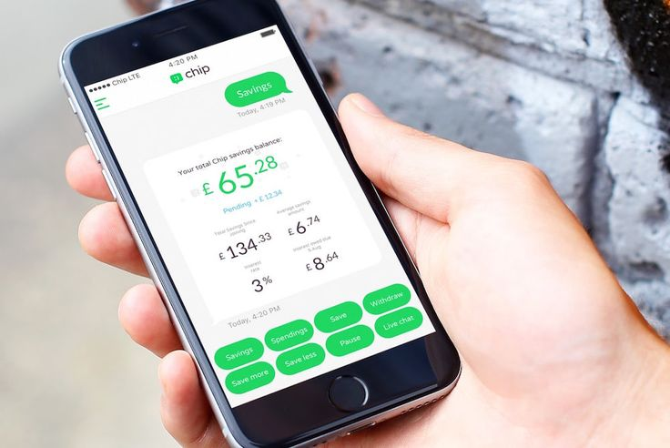 Chip is an AI and app that is made to help guide people toward greater financial responsibility.