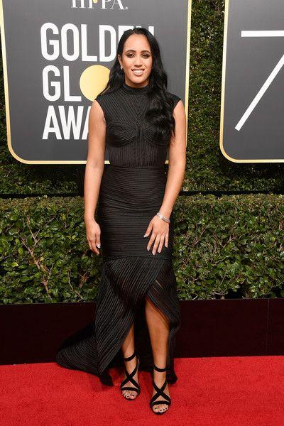 Simone Johnson in Fabiana Milazzo - Every Single Look from the 2018 Golden Globe Awards - Photos