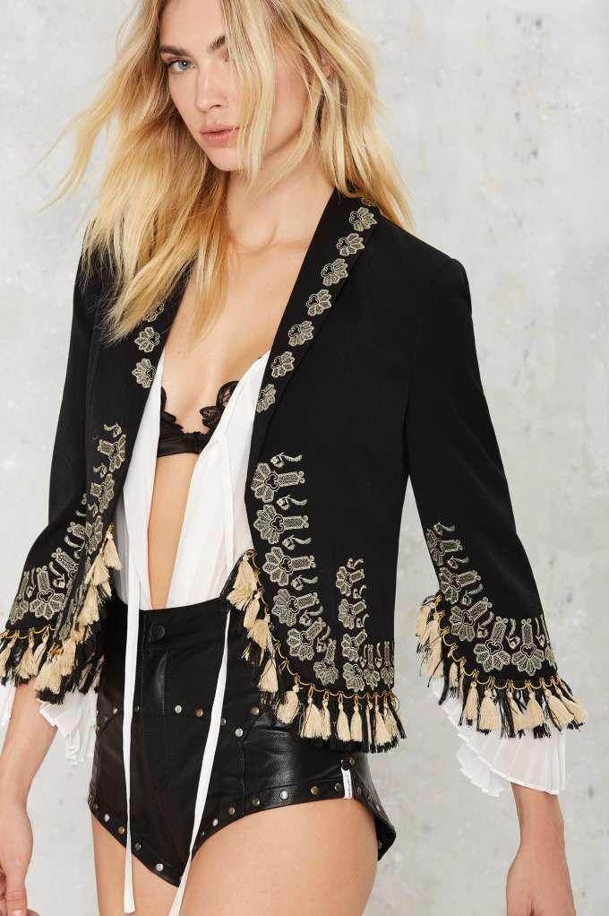 Nasty Gal Marisol Bolero Jacket - Clothes | Best Sellers | Blazers + Capes | Jackets + Coats
