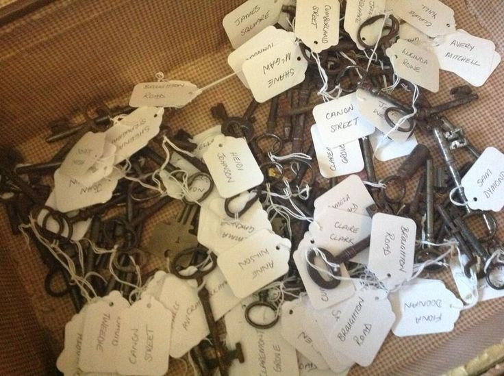 heres a really novel idea for your wedding seating plan pick a key at random