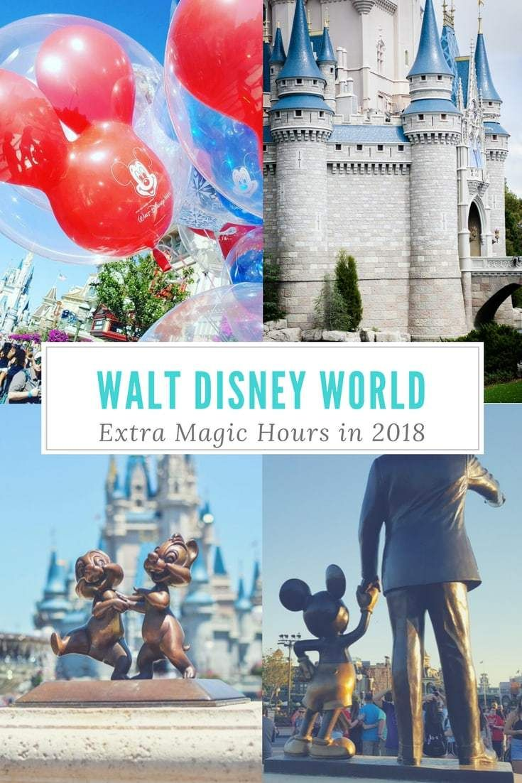 Disney World Extra Magic Hours In 2018 Has A New Face See What