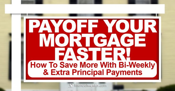 Bi Weekly Mortgage Payment. Pay off mortgage faster