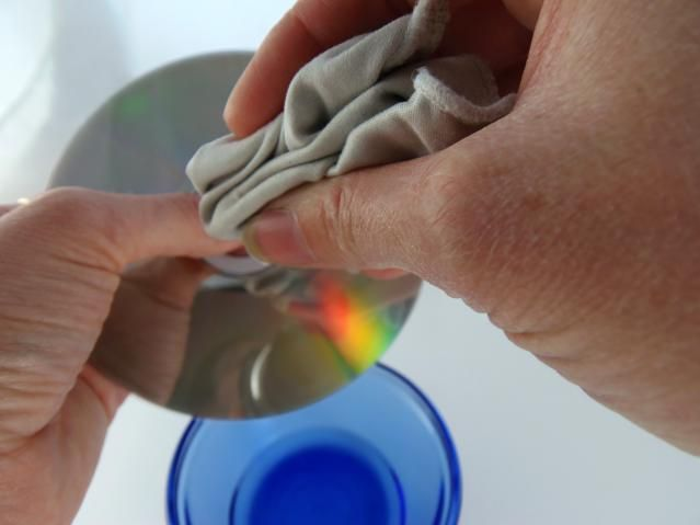 The Safe Easy Way to Clean Dirty DVDs