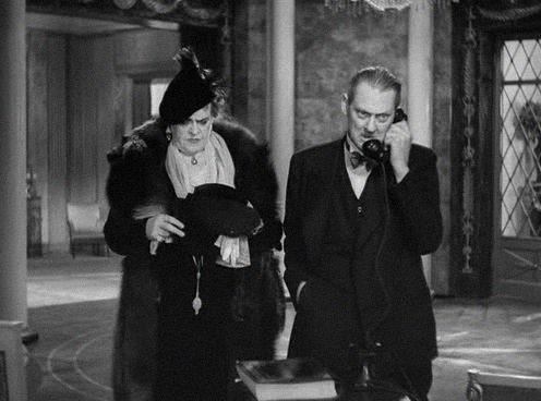 Dinner at Eight (1933) Lionel Barrymore, Marie Dressler