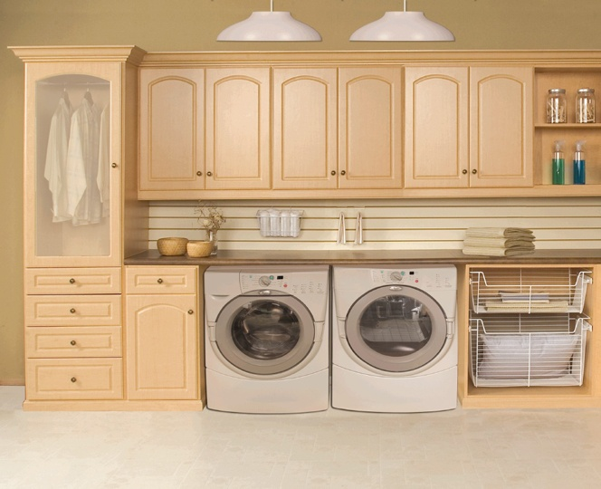 laundry ideas - mesh front closet for drying clothes?