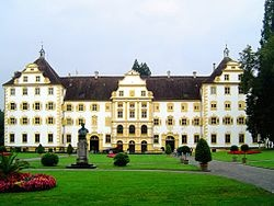Salem Abbey (Kloster or Reichskloster Salem), also known as Salmansweiler and in Latin as Salomonis Villa, was a very prominent Cistercian monastery in Salem in the district of Bodensee about ten miles from Konstanz, Baden-Württemberg, Germany.