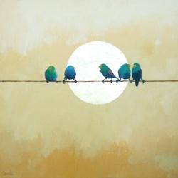 Bluebirds: Thoughts, Artists, Birds Art, Bluebirds Paintings, Little Birds, Beauty Bluebirds, Illustration, Neon Dresses, Birds Of Paradise