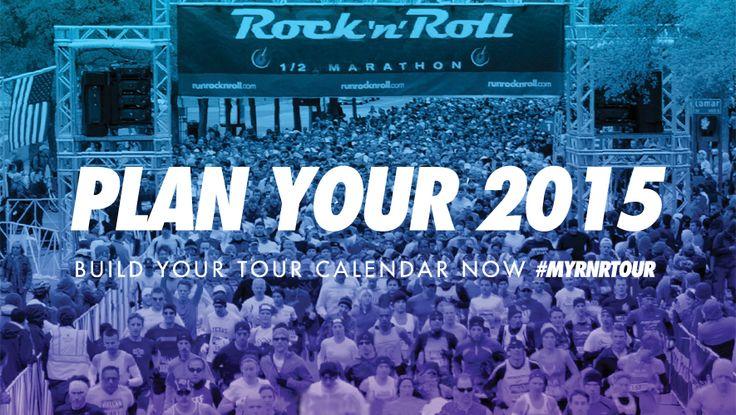 Chicago Rock 'n' Roll Half Marathon & 5K Mini Marathon Race 2015 (Ooh--I think I'm going to run one of these with Jim! :))