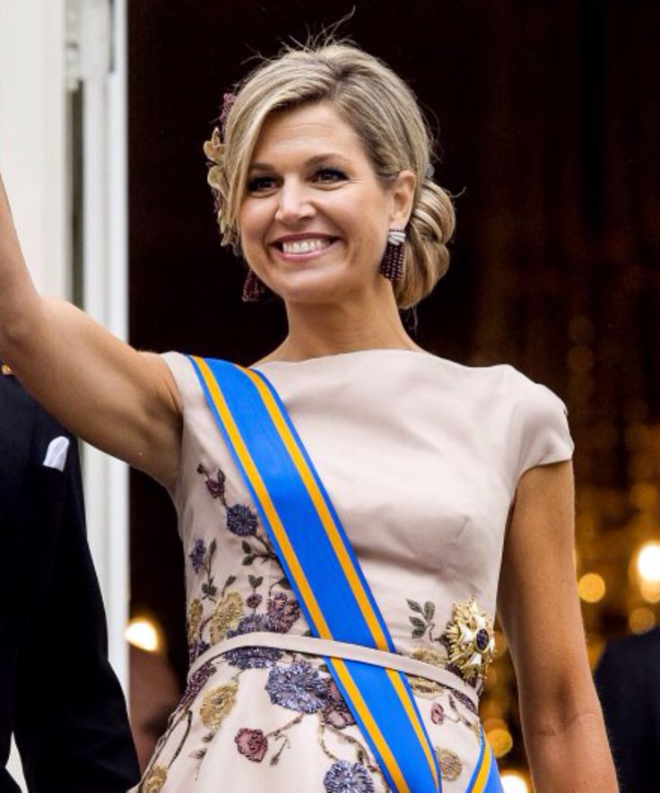 King Willem - Alexander and Queen Maxima, Prince Constantijn and Princess Laurentien attended the opening of the 2015 Prinsjesdag (Prince's Day) in The Hague on September 15, 2015 Netherlands.