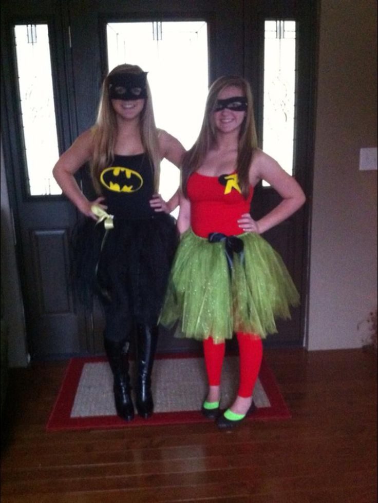 Batman and Robin Costume! | Best friends ️ | Pinterest ...
