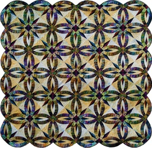 Bali Wedding Star is the most stunning quilt I have seen by Judy Niemeyer.