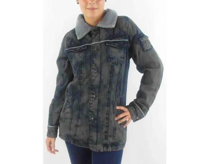 O´Neill Jeansjacke Übergangsjacke Jean blau braun Fleecekragen Taschen Jetzt bestellen unter: https://mode.ladendirekt.de/damen/bekleidung/jacken/jeansjacken/?uid=c61007a9-7aad-5cc5-bd6e-16bb31dba2bd&utm_source=pinterest&utm_medium=pin&utm_campaign=boards #jeansjacken #bekleidung #jacken